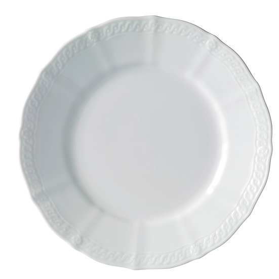 Decorative Plates, White