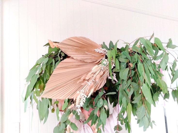 Green or floral Chandelier