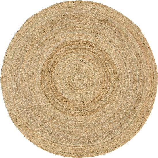 Braided Jute Rug - Round