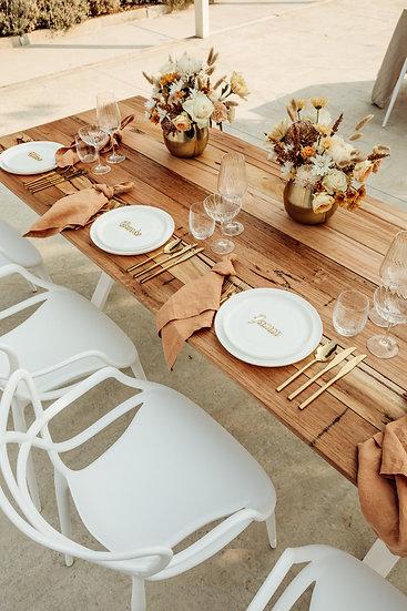 Reclaimed Victorian Hardwood Tables