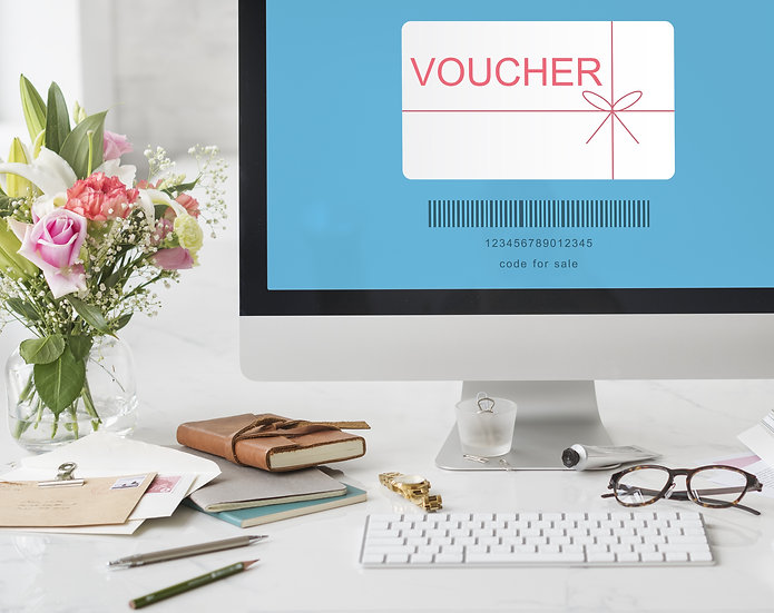 Gift Voucher for Birthdays, Anniversaries and Engagement Parties