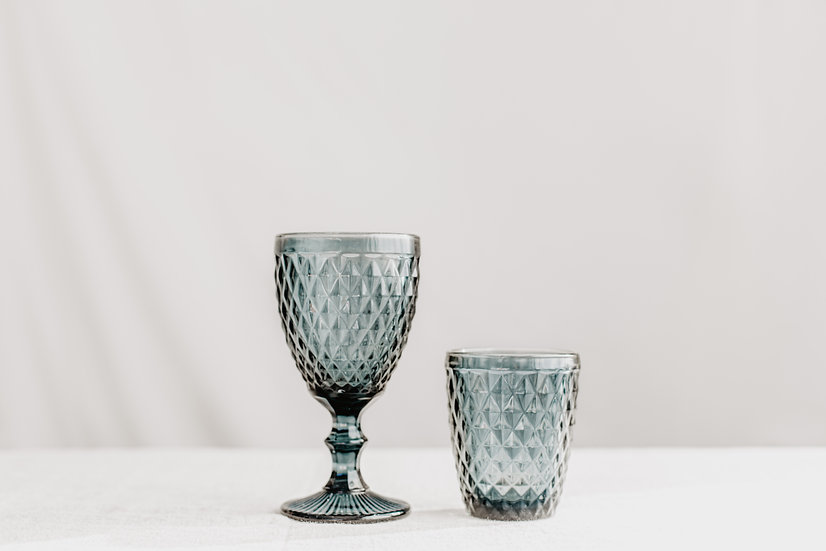 Smoke/Black Glassware