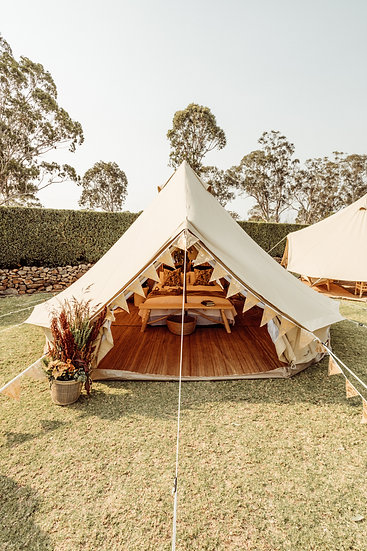 5 metre Bell Tent (unfurnished)
