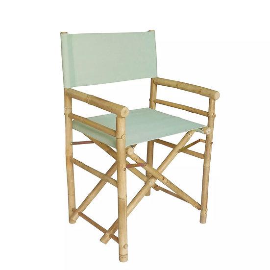 Bamboo Director Chair (Sage Green)