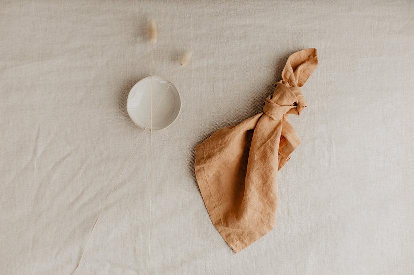 100% Linen Napkin, Sandstorm