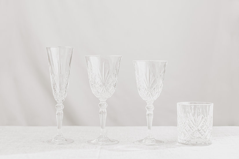 Decorative Crystal Glassware