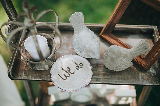 結婚式で使う小物、新郎新婦の思い
