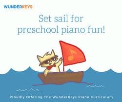 Preschool piano fun