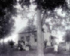 Hauser farm, ca. 1900, Corner Vernon St. / Rebecca Park Trail