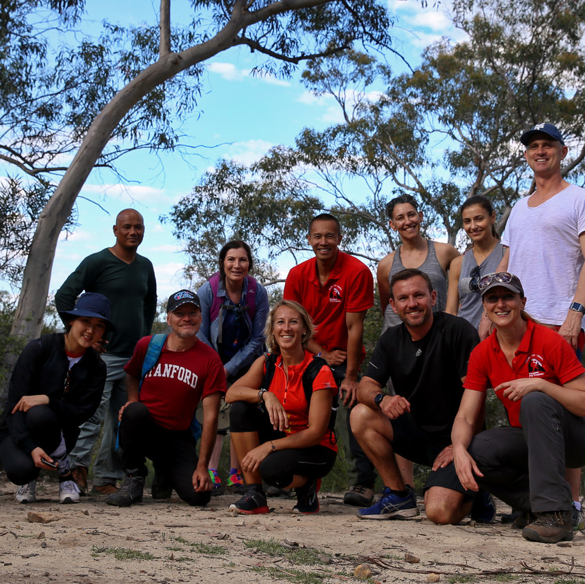 Meetup hiking group