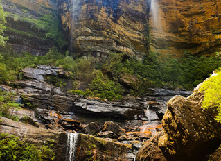 Wentworth Falls & Valley of the Waters through Hippocrene Falls Track