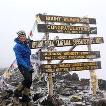 Summit of Mt Kilimanjaro Tanzania