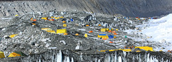 Everest Base Camp expedition tents