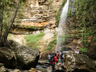 Waterfalls and Cascades of Macquarie Pass NP
