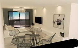 2 dormitorios - living 02