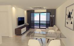 1 dormitorio - living