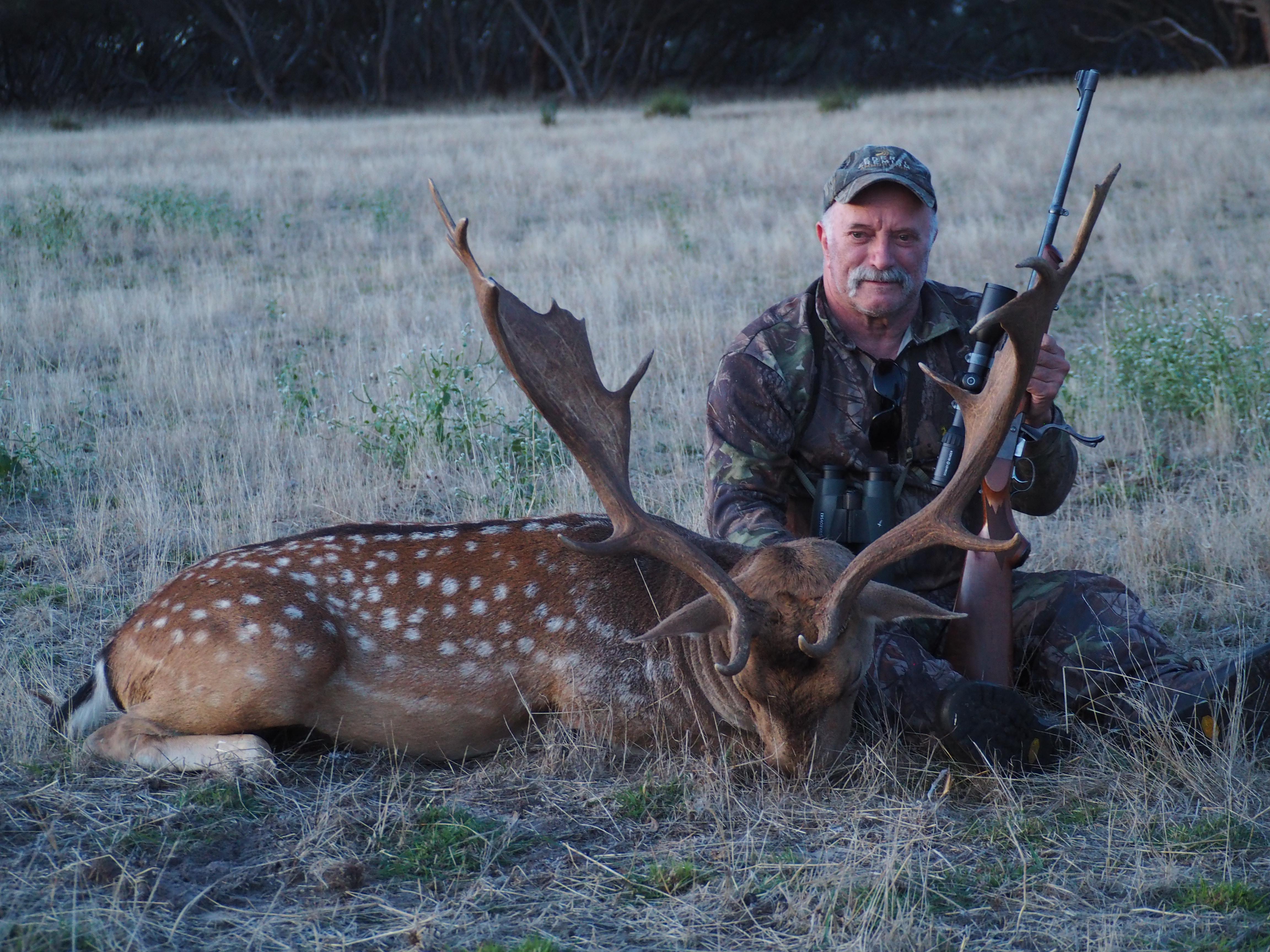 John Dunn's fallow buck