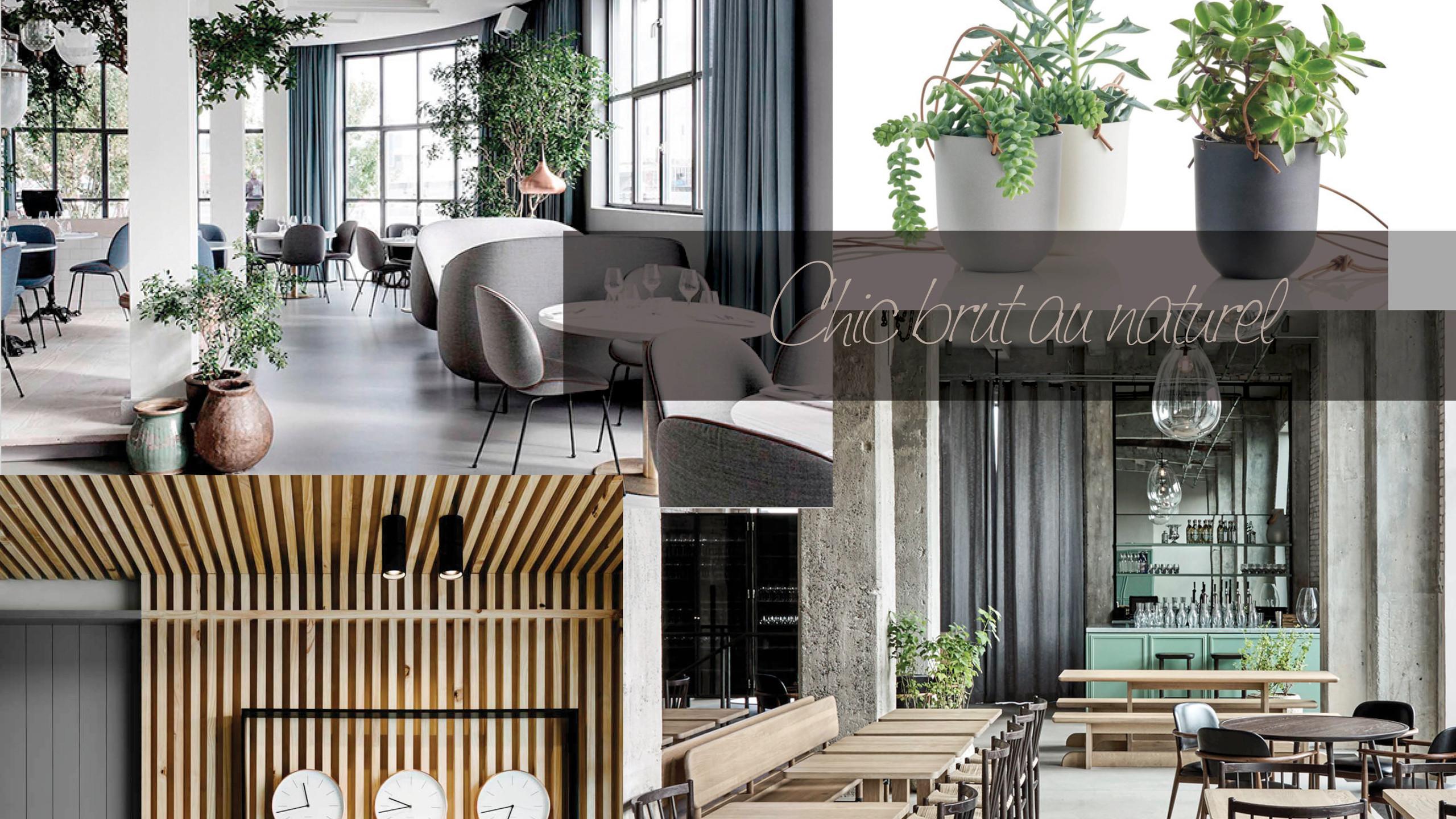 décoration contemporaine restaurant