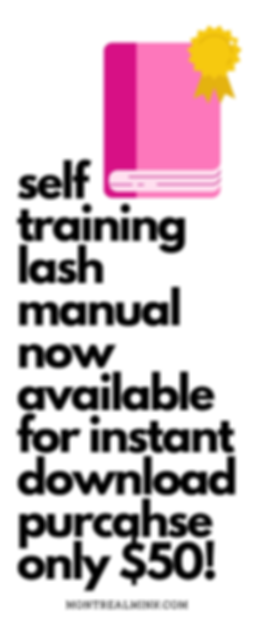 self training lash manual now available