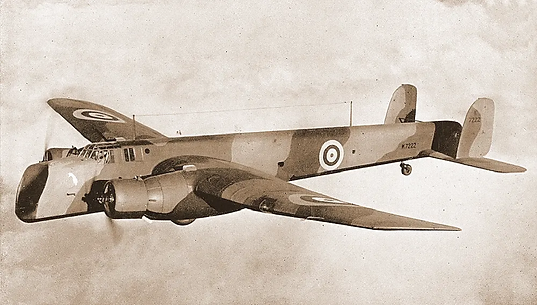 Armstrong Whitley Heavy Bomber A.W.38