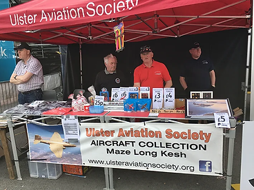 Ulster Aviation Society's Event Team at the Balmoral Show 2018