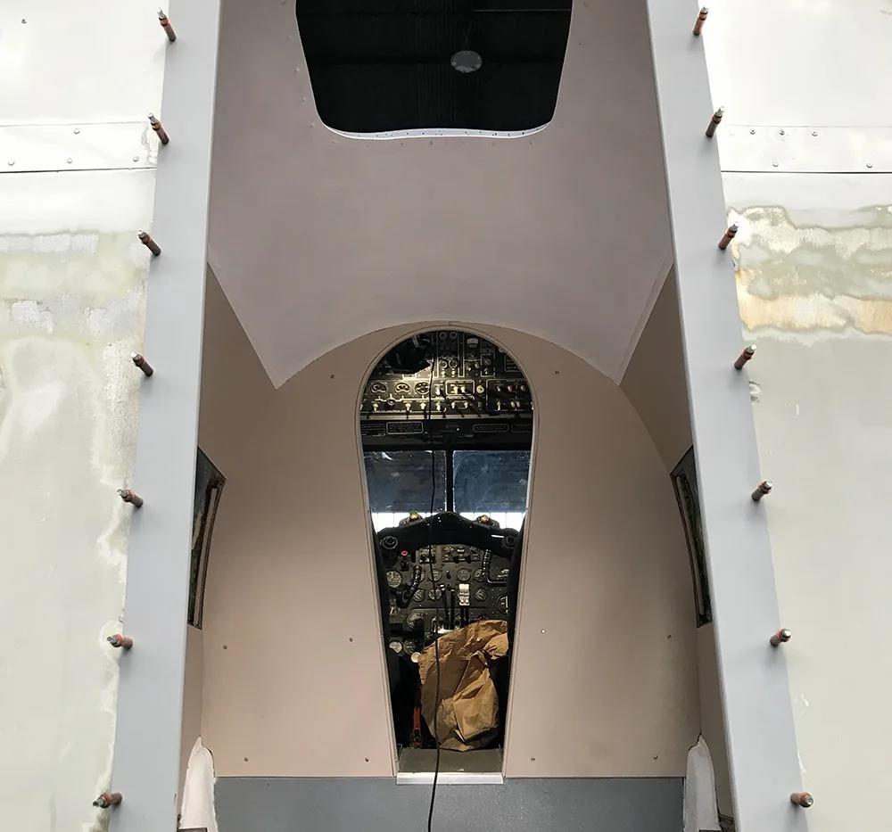 Devon-Cockpit-internal-Woodwork-Nov-2020