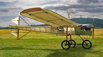 Ferguson Flyer 1911 vintage plane created by Harry Ferguson from the Ulster Aviation Society