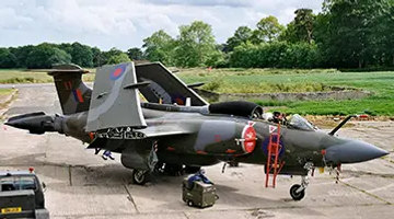 """Buccaneer S.2B """"XV361"""" at the Ulster Aviation Society"""