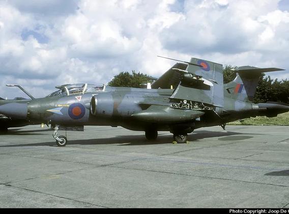 Blackburn Buccaneer XV361 in the Netherlands