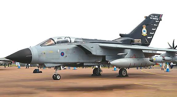 Tornado GR.4 ZG771 on the runway