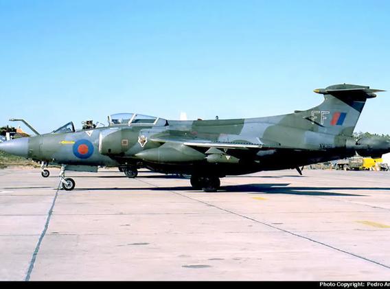 Blackburn Buccaneer XV361 in Faro, Portugal