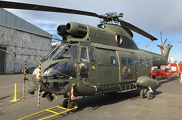 Puma-Helicopter-HC1-Hangar-2018-Outside-