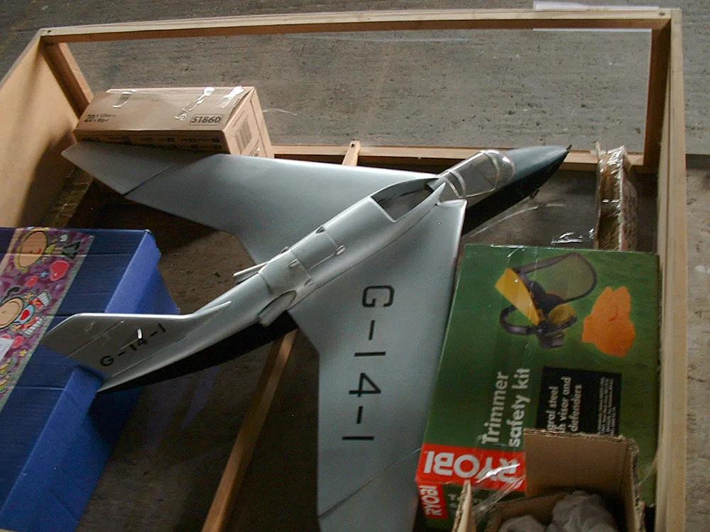 Shorts Sherpa SB4 G-14-1 Jet scale model