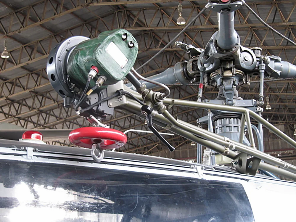 Alouette III Helicopter Winch system