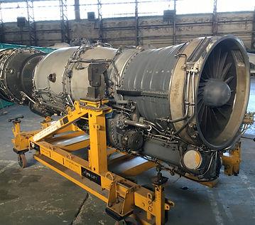 Rolls-Royce Spey Turbofan engine from a Phantom FG.1 at the Ulster Aviation Society