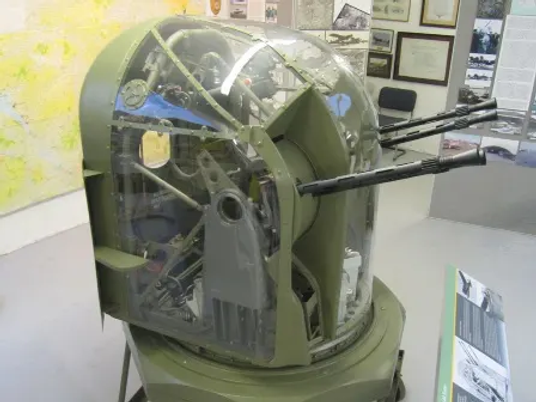 Armstrong Whitworth Whitley FN-4A Gun Turret at the Ulster Aviation Society