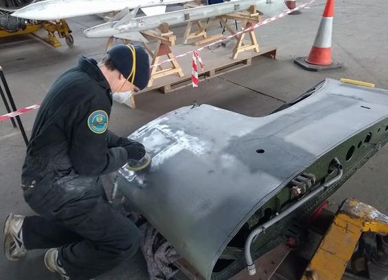 Grumman-Wildcat-F4F-Hangar-Starboard-Stu