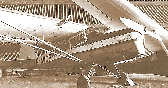 Taylorcraft Auster A.61/ Beagle Terrier 1 G-AVCS in its earlier flying days. Image: Chris Gresham