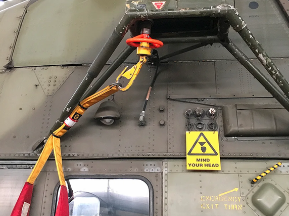 Westland Wessex HC.2 Helicopter Winching system