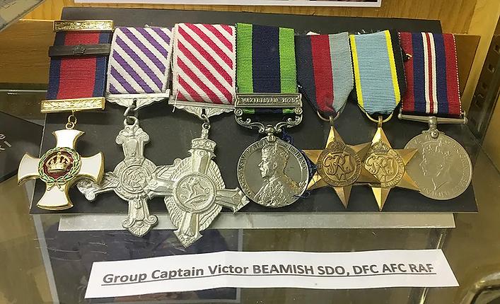 Ernie-Cromie-Room-Hangar-Medals-Victor-B