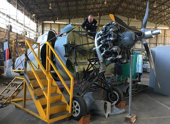 Grumman-Wildcat-F4F-Hangar-Alex-Wright-M