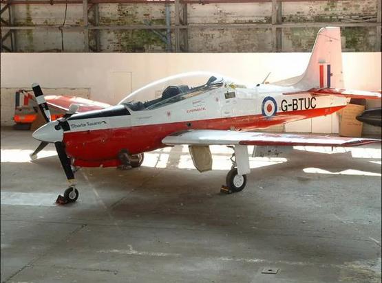 Shorts-Tucano-T1-G-BUTC-Hangar-MLK-Early