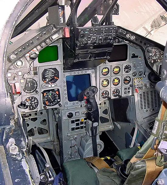 Forward Cockpit of the Tornado GR.4