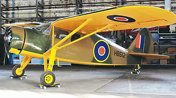 """Fairchild Argus F-24W41A """"HB612"""" at the Ulster Aviation Society"""