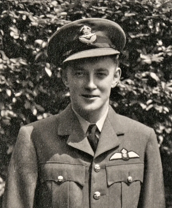 """The late Walter McManus, Royal Canadian Air Force who died in the original """"Down"""" Spitfire"""