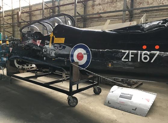 Shorts-Tucano-T1-Prototype-ZF167-Hangar-