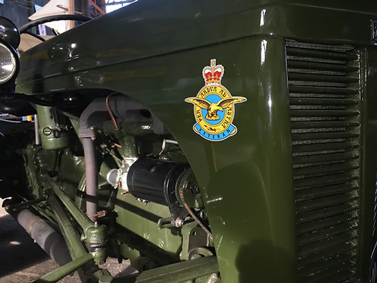 Ferguson TEA-20 Tractor with its RAF insignia, at the Ulster Aviation Society
