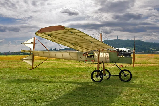 Ferguson Flyer 1911 (Flying) Replica, at Newtownards, Co. Down (July 2017). Image: Stephen Riley