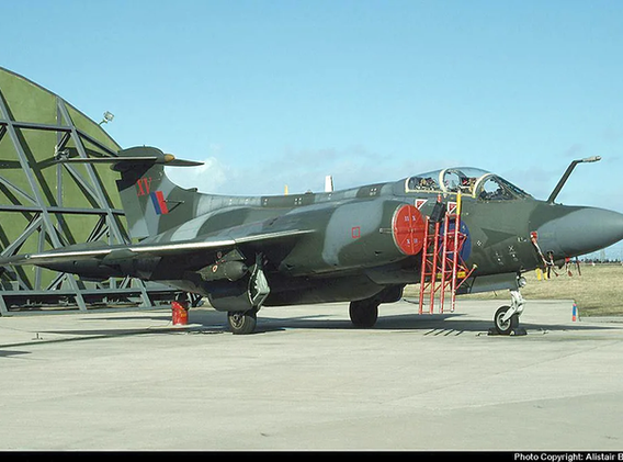 Blackburn Buccaneer XV361 at Lossiemouth
