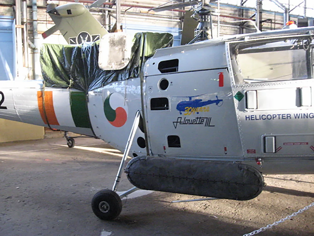 Alouette-Helicopter-Hangar-Flotation-bag